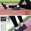 พร้อมส่ง รองเท้าผ้าใบแฟชั่น งานผ้า น้ำหนักเบา ทรงยอดฮิต แฟชั่นเกาหลี [สีดำ ] thumbnail 2