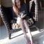 พร้อมส่ง รองเท้าส้นเข็มหุ้มข้อสีเบจ ผ้าสักหราด แฟชั่นเกาหลี แฟชั่นเกาหลี [สีเบจ ] thumbnail 7