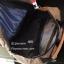 กระเป๋าเป้ผู้หญิง กระเป๋าสะพายข้างแฟชั่น แต่งหูหนังพียูเข็มขัดสอด [สีฟ้า ] thumbnail 2
