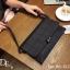 กระเป๋าถือ กระเป๋าคลัช ประดับอะไหล่ดำเมทัลลิค [สีดำ ] thumbnail 4
