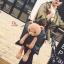 กระเป๋าสะพายแฟชั่น สะพายไหล่ ตุ๊กตาหมี [สีดำ ] thumbnail 2