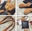 กระเป๋าสะพายแฟชั่น สะพายไหล่ ตุ๊กตาหมี [สีดำ ] thumbnail 10