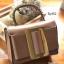 กระเป๋าถือ กระเป๋าสะพายข้างแฟชั่น หนังดี สไตล์ Boyy [สีน้ำตาล ] thumbnail 3