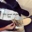 พร้อมส่ง รองเท้าผ้าใบหุ้มข้อสีแอปริคอท ผ้าสักหราด แฟชั่นเกาหลี แฟชั่นเกาหลี [สีแอปริคอท ] thumbnail 3