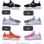 พร้อมส่ง รองเท้าผ้าใบแฟชั่นสีดำ น้ำหนักเบา ทรงสปอร์ต แฟชั่นเกาหลี [สีดำ ] thumbnail 4
