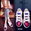 พร้อมส่ง รองเท้าผ้าใบแฟชั่นสีขาว แต่งลายหัวใจ สไตล์เก๋ แฟชั่นเกาหลี [สีขาว ] thumbnail 6