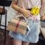 กระเป๋าถือ กระเป๋าสะพายข้างแฟชั่น นำเข้า Style Burberry [สีขาว ] thumbnail 3