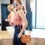 กระเป๋าสะพายแฟชั่น กระเป๋าสะพายข้างผู้หญิง Chol bag [สีดำ]