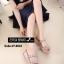 พร้อมส่ง รองเท้าแตะผู้หญิงสีชมพู แบบสวม สายคาดสองตอน แฟชั่นเกาหลี [สีชมพู ] thumbnail 2