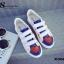 พร้อมส่ง รองเท้าผ้าใบแฟชั่นสีขาว แต่งลายหัวใจ สไตล์เก๋ แฟชั่นเกาหลี [สีขาว ] thumbnail 2