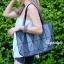 กระเป๋าสะพายแฟชั่น กระเป๋าสะพายข้างผู้หญิง Baobao crystal [สีเทาเข้ม]
