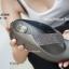 พร้อมส่ง รองเท้าแตะเพื่อสุขภาพสีเทา Crystal Fitness Soft แฟชั่นเกาหลี [สีเทา ] thumbnail 4