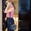 กระเป๋าสะพายแฟชั่น กระเป๋าสะพายข้างผู้หญิง Chol bag [สีดำ] thumbnail 5