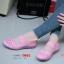 รองเท้าผ้าใบเพื่อสุขภาพ ผ้ายางถัก เอาใจสปอร์ตเกิร์ล [สีชมพู ] thumbnail 1