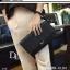 กระเป๋าถือ กระเป๋าคลัช ประดับอะไหล่ดำเมทัลลิค [สีดำ ] thumbnail 10