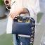กระเป๋าถือ กระเป๋าสะพายข้างแฟชั่น Fendi monster [สีกรม ] thumbnail 1