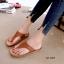 รองเท้าแตะเปิดส้น แบบคีบ ใส่ลำลอง [สีแทน ] thumbnail 2