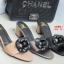 รองเท้าส้นตันเปิดส้น CN CamilliaSandals Style [สีดำ ] thumbnail 5