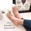 พร้อมส่ง รองเท้าผ้าใบผู้หญิงสีกากี พียูนิ่ม แต่งอะไหล่ดอกไม้ตอก แฟชั่นเกาหลี [สีกากี ] thumbnail 1