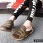 พร้อมส่ง รองเท้าผ้าใบแฟชั่นสีน้ำตาล ไร้เชือก สไตล์ Sport Girls แฟชั่นเกาหลี [สีน้ำตาล ] thumbnail 3