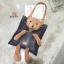 กระเป๋าสะพายแฟชั่น สะพายไหล่ ตุ๊กตาหมี [สีดำ ] thumbnail 4