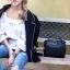 กระเป๋าถือ กระเป๋าสะพายข้างแฟชั่น Fendi monster [สีดำ ] thumbnail 4