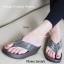 พร้อมส่ง รองเท้าแตะเพื่อสุขภาพสีเทา Crystal Fitness Soft แฟชั่นเกาหลี [สีเทา ] thumbnail 1