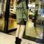 พร้อมส่ง รองเท้าผ้าใบหุ้มข้อสีดำ ผ้าสักหราด แฟชั่นเกาหลี แฟชั่นเกาหลี [สีดำ ] thumbnail 3