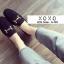 พร้อมส่ง รองเท้าคัทชูส้นแบนสีแดง ผ้าสักหราด น้ำหนักเบา แฟชั่นเกาหลี [สีดำ ] thumbnail 2