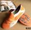 พร้อมส่ง รองเท้าผ้าใบแฟชั่นสีส้ม ไร้เชือก สไตล์ Sport Girls แฟชั่นเกาหลี [สีส้ม ] thumbnail 4
