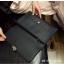 กระเป๋าถือ กระเป๋าคลัช ประดับอะไหล่ดำเมทัลลิค [สีดำ ] thumbnail 11