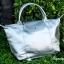 กระเป๋าสะพายแฟชั่น กระเป๋าสะพายข้างผู้หญิง ลองชอมหนัง Style [สีเงิน ] thumbnail 3