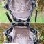 กระเป๋าสะพายแฟชั่น กระเป๋าสะพายข้างผู้หญิง ทรงขนมจีบ ปักลายวินเทจ [สีดำ ] thumbnail 6
