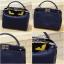 กระเป๋าถือ กระเป๋าสะพายข้างแฟชั่น Fendi monster [สีกรม ] thumbnail 10