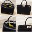 กระเป๋าถือ กระเป๋าสะพายข้างแฟชั่น Fendi monster [สีดำ ] thumbnail 10