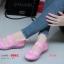 รองเท้าผ้าใบเพื่อสุขภาพ ผ้ายางถัก เอาใจสปอร์ตเกิร์ล [สีชมพู ] thumbnail 5