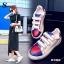 พร้อมส่ง รองเท้าผ้าใบแฟชั่นสีขาว แต่งลายหัวใจ สไตล์เก๋ แฟชั่นเกาหลี [สีขาว ] thumbnail 1