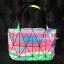 กระเป๋าสะพายแฟชั่น กระเป๋าสะพายข้างผู้หญิง Baobao crystal [สีรุ้ง] thumbnail 3