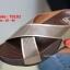 รองเท้าแตะเพื่อสุขภาพ พื้นยาง Slide Fitness Style [สีทอง ] thumbnail 2