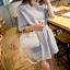 กระเป๋าสะพายแฟชั่น กระเป๋าสะพายข้างผู้หญิง ดีไซน์น่ารักสไตล์เกาหลี [สีขาว ] thumbnail 5