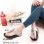 พร้อมส่ง รองเท้าแตะเพื่อสุขภาพ แบบคีบ พื้นSoft Comfort แฟชั่นเกาหลี [สีเทา ] thumbnail 1