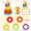 Huile Toys Stacking Rainbow Duck ห่วงเรียงซ้อนลูกเป็ดน้อย thumbnail 8