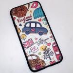 4.รถ England ขอบยาง - เคส iPhone 7