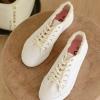 Pre-Order รองเท้าผ้าใบขอบรุ่ย มี2สี
