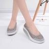 รองเท้าผ้าใบ ลูกไม้เพื่อสุขภาพ(สีเทา)