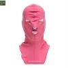 โม่งคลุมหัว สีชมพู แบบปิดทั้งหน้า ป้องกันแดด ป้องกันรังสี UV