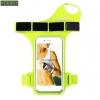 สายรัดแขนวิ่ง Armband สีเขียว ใส่โทรศัพท์ รัดข้อมือ แบบสอดนิ้ว