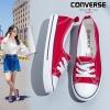 รองเท้าผ้าใบ ส้นแบน(สีแดง)