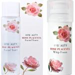 HyBeauty Rose Placenta Facial Toner & Hybeauty Rose Placenta Whip Foam ศูนย์จำหน่ายราคาส่ง เช็ทคู่หน้าใส ผิวสะอาด กระจ่างใสทุกมุมมอง ส่งฟรี
