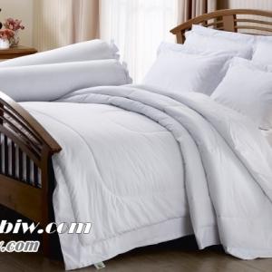ชุดเครื่องนอน ผ้าปูที่นอน jessica สีพื้น สีขาว White